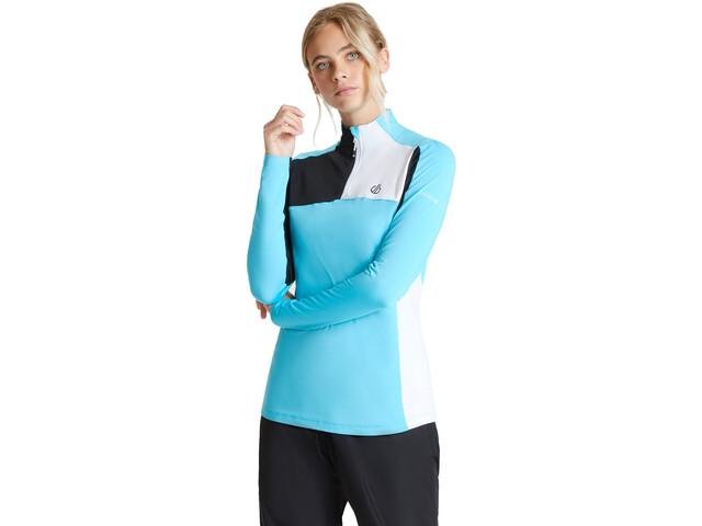 Dare 2b Default Core Stretch Maglietta Donna, azure blue/black/white